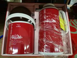 Imported Japanese thermos n ice bucket gift set
