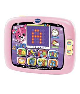 BNIB VTech Light-Up Baby Touch Tablet, Pink
