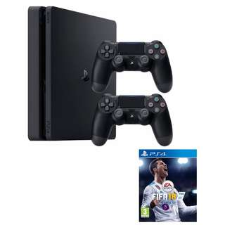 PS4 FOR RENT: FIFA18 BUNDLE