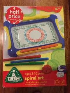 ELC spiral art