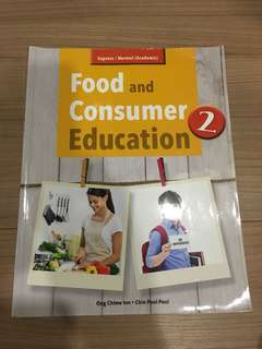 secondary 2 Food and  Consumer Education Textbook