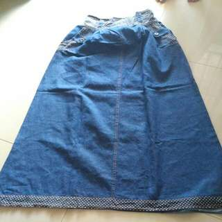 rok denim preloved