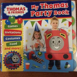 Thomas Party book