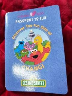 Sesame Street passport