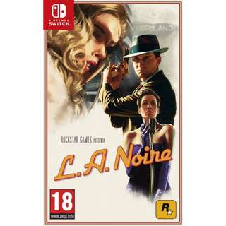 [new not used] SWITCH L.A. Noire Nintendo Rockstar Action Games