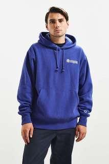 Champion Triple Script Reverse Weave Hoodie Sweatshirt