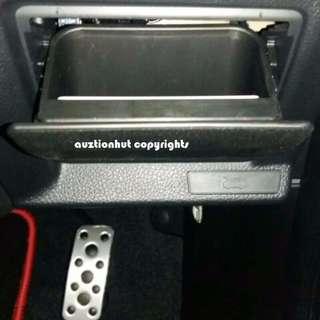 BN Fuse Coin Box Bin For 2013-2017 Subaru XV Forester Impreza 2014 Outback Legacy WRX STi Armrest Storage Box Tray Holder