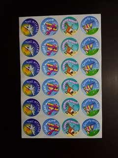 BN Creative Writing Stickers