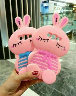 3D full body rabbit silicone case