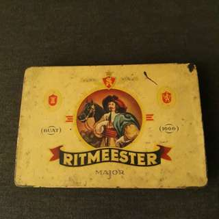 Vintage Ritmeester cigar tin box