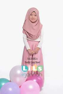 [NEW] LILS OF JANNAH KIDS Double Loop Shawl