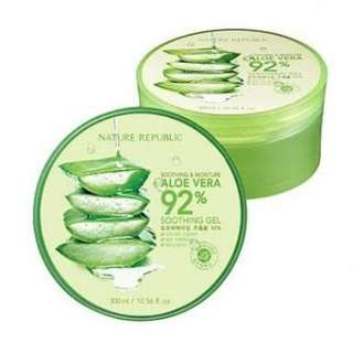 Nature Republic Aloe Vera 92% Soothing Gel (100% ORI)