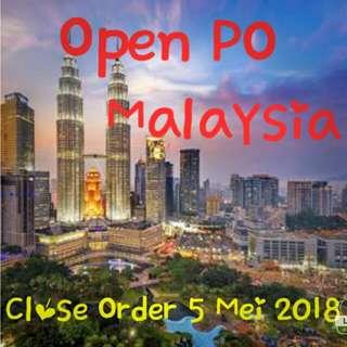 Open PO Malaysia