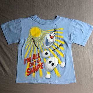 Disney Store Olaf shirt