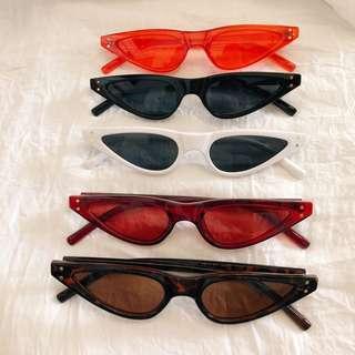 Slim Thin Sunglasses