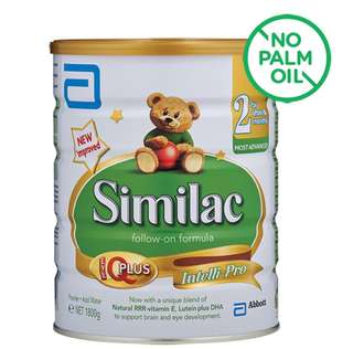 Similac Follow-On 1.8kg x 2 Tins $210 Only INCLUDING FREE DELIVERY  MADE IN SINGAPORE FOR SINGAPORE 🇸🇬