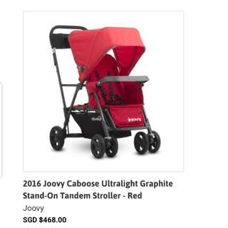 Joovy ultralight caboose graphite