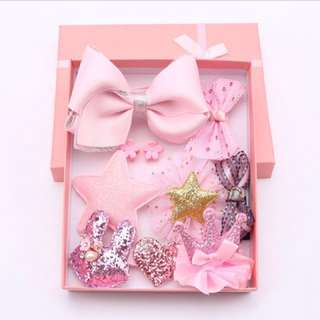 Hair accessories for little children girl 1 box