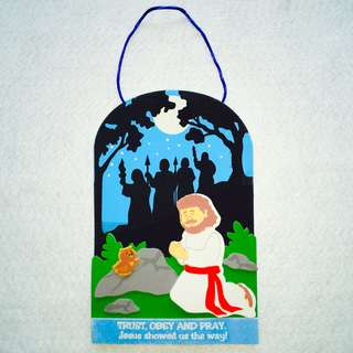 Jesus Prays in the Garden Craft Kit