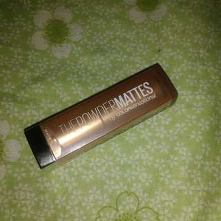 Maybelline Powder Matte shade Raw Cocoa