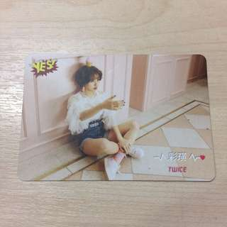 Twice - Chaeyoung Photocard
