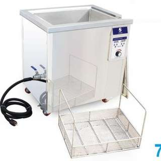 77L car engine carbon ultrasonic cleaning machine