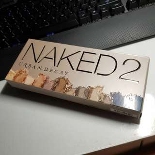 AUTHENTIC Urban Decay Naked 2 Eyeshadow Palette