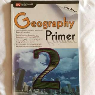 Geography guide Sec 2