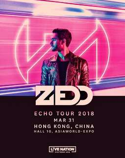 Looking for Zedd echo tour tickets x2