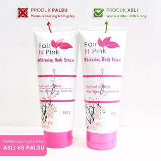 Fair and pink whitening