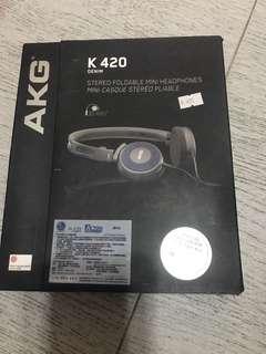AKG Stereo Foldable mini headphones