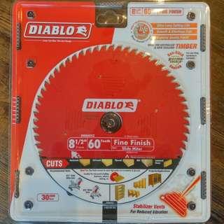 Diablo blade for mitre saw