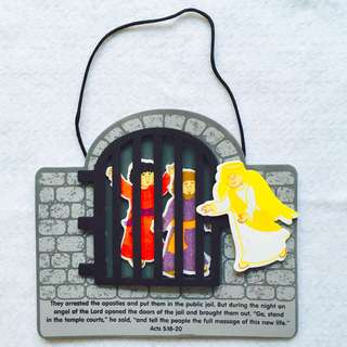Apostles Take Action Foam Sign Craft Kit