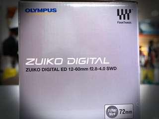 Olympus Zuiko 12-60mm F2.8-4