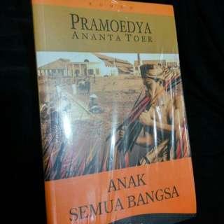 """Pramoedya Ananta Toer """"Anak Semua Bangsa"""""""