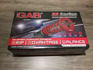 Rare Mitsubishi Mirage space star & Attrage coil overs suspension set by GAB