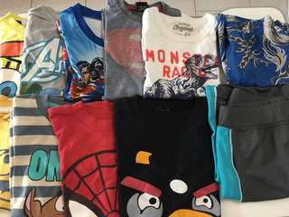 Bundle of Boys Clothes fits T4-5