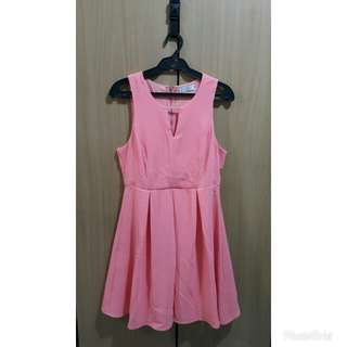 Hip Culture Dress - Salmon