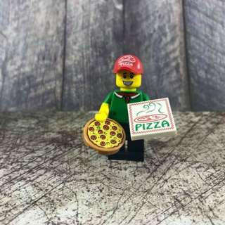Lego Minifigure Series 12 Pizza Delivery Guy