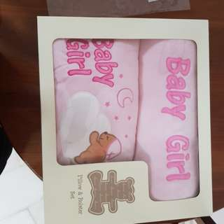 Baby Pillow and Bolster Set
