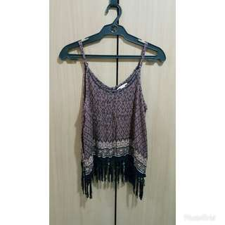 Forever21 Sleveless Boho Chic Top