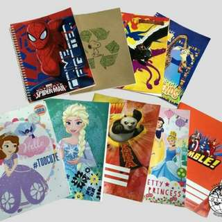Disney Brand Spiral, Writing and Composition Notebook 80 Leaves