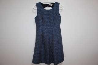 Forever 21 black & blue dress