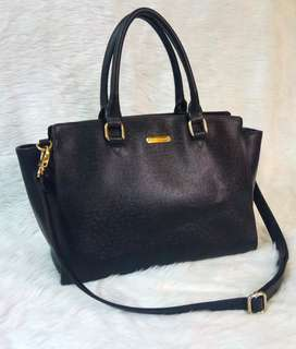 Anne Klein Black Tote Bag