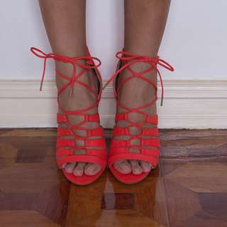 BNEW ASOS lace up sandals
