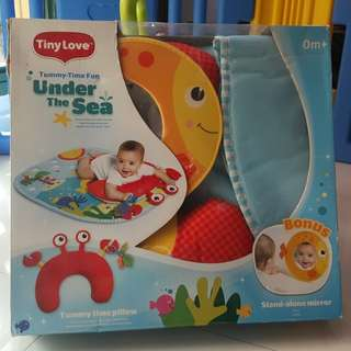 Tummy Time Pillow (Under the Sea)