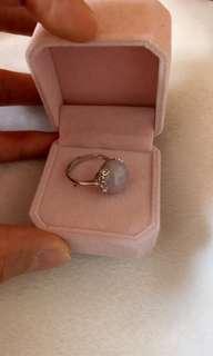 精美A貨紫羅蘭戒指