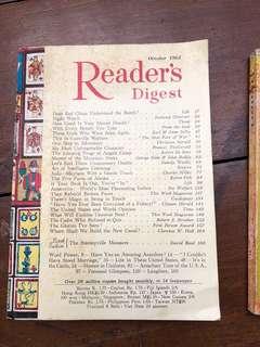 1965 & 1968 Reader's Digest