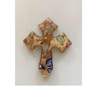 🚚 琉璃 漂亮十字架吊飾