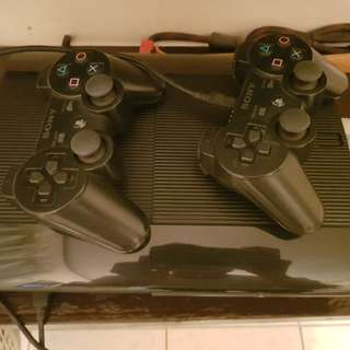 REPRICED Playstation 3 PS3 500GB (COMPLETE inclusions + 1 free controller + 8 games)